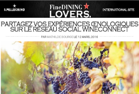 wineConnect dans FineDining Lovers le 12 mars 2016