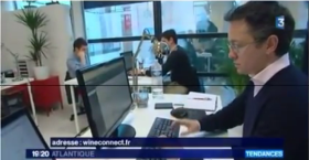 wineConnect sur France3 le 9 mars 2016